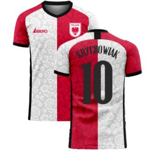Poland 2020-2021 Away Concept Football Kit (Libero) (KRYCHOWIAK 10)