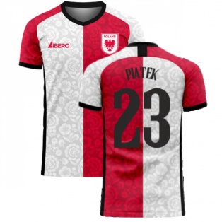 Poland 2020-2021 Away Concept Football Kit (Libero) (PIATEK 23)