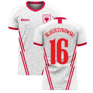Poland 2020-2021 Home Concept Football Kit (Libero) (BLASZCZYKOWSKI 16)