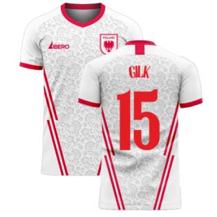 Poland 2020-2021 Home Concept Football Kit (Libero) (GILK 15)