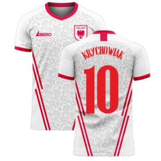 Poland 2020-2021 Home Concept Football Kit (Libero) (KRYCHOWIAK 10)