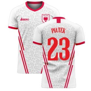Poland 2020-2021 Home Concept Football Kit (Libero) (PIATEK 23)