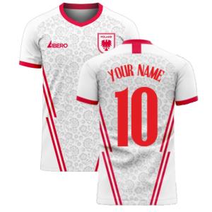 Poland 2020-2021 Home Concept Football Kit (Libero)