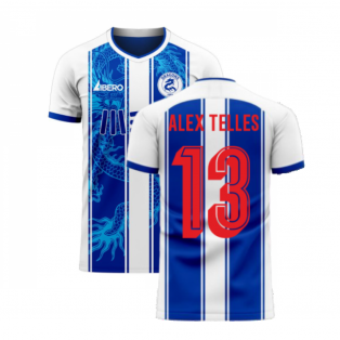 Porto 2020-2021 Home Concept Football Kit (Libero) (ALEX TELLES 13)