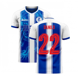 Porto 2020-2021 Home Concept Football Kit (Libero) (DANILO 22)