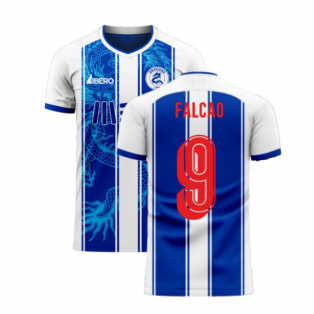 Porto 2020-2021 Home Concept Football Kit (Libero) (FALCAO 9)