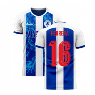 Porto 2020-2021 Home Concept Football Kit (Libero) (HERRERA 16)
