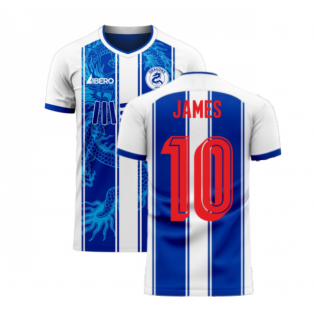 Porto 2020-2021 Home Concept Football Kit (Libero) (JAMES 10)