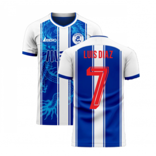 Porto 2020-2021 Home Concept Football Kit (Libero) (LUIS DIAZ 7)