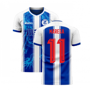 Porto 2020-2021 Home Concept Football Kit (Libero) (MAREGA 11)