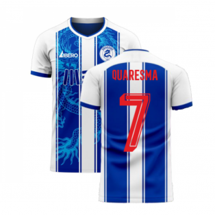 Porto 2020-2021 Home Concept Football Kit (Libero) (QUARESMA 7)