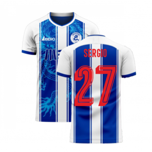 Porto 2020-2021 Home Concept Football Kit (Libero) (SERGIO 27)