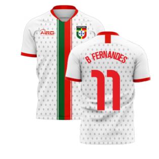 Portugal 2020-2021 Away Concept Football Kit (Libero) (B Fernandes 11)