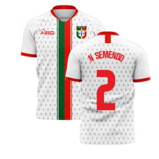 Portugal 2020-2021 Away Concept Football Kit (Libero) (N SEMENDO 2)