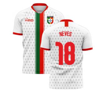Portugal 2020-2021 Away Concept Football Kit (Libero) (Neves 18)
