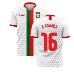 Portugal 2020-2021 Away Concept Football Kit (Libero) (R SANCHES 16)