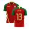 Portugal 2020-2021 Home Concept Football Kit (Airo) (EUSEBIO 13)