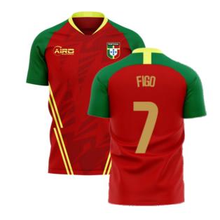 Portugal 2020-2021 Home Concept Football Kit (Airo) (FIGO 7)