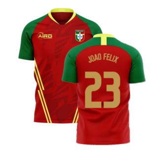Portugal 2020-2021 Home Concept Football Kit (Airo) (Joao Felix 23)