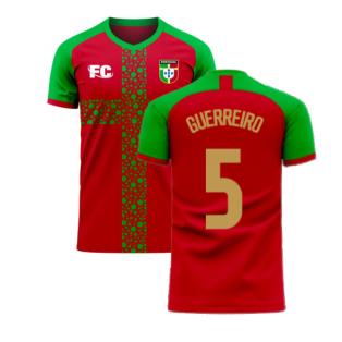 Portugal 2020-2021 Home Concept Football Kit (Fans Culture) (GUERREIRO 5)
