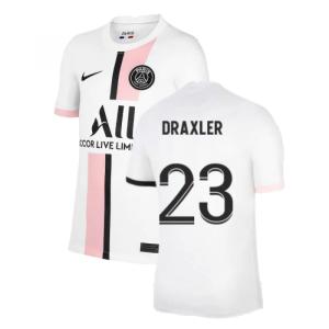 PSG 2021-2022 Away Shirt (Kids) (DRAXLER 23)