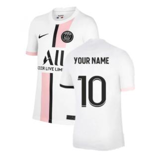PSG 2021-2022 Away Shirt (Kids) (Your Name)
