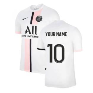 PSG 2021-2022 Away Shirt (Your Name)