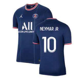PSG 2021-2022 Home Shirt (Kids) (NEYMAR JR 10)