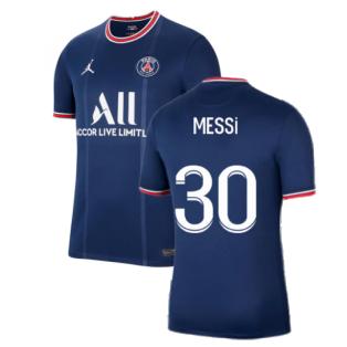 PSG 2021-2022 Home Shirt (MESSI 30)