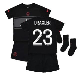 PSG 2021-2022 Infants 3rd Kit (DRAXLER 23)