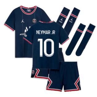 PSG 2021-2022 Little Boys Home Kit (NEYMAR JR 10)