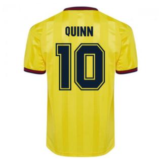 Score Draw Arsenal 1985 Centenary Away Shirt (Quinn 10)