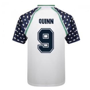 Score Draw Sunderland 1992 FA Cup Away Shirt (Quinn 9)