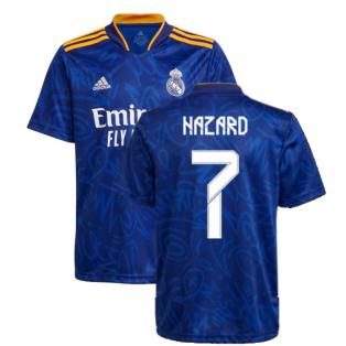 Real Madrid 2021-2022 Away Shirt (Kids) (HAZARD 7)