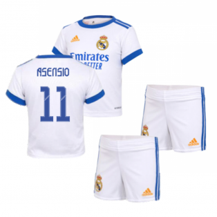 Real Madrid 2021-2022 Home Baby Kit (ASENSIO 11)