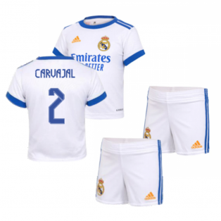 Real Madrid 2021-2022 Home Baby Kit (CARVAJAL 2)