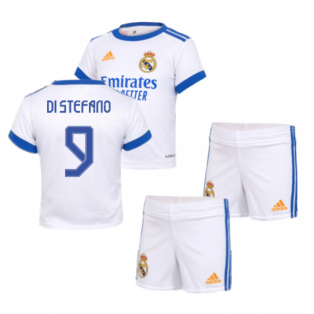 Real Madrid 2021-2022 Home Baby Kit (DI STEFANO 9)