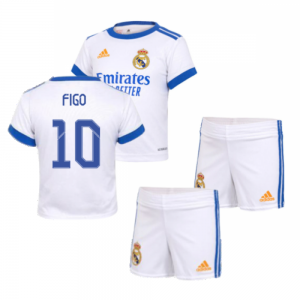 Real Madrid 2021-2022 Home Baby Kit (FIGO 10)