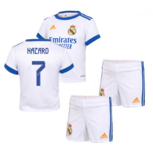 Real Madrid 2021-2022 Home Baby Kit (HAZARD 7)