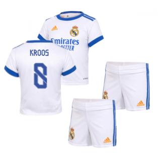 Real Madrid 2021-2022 Home Baby Kit (KROOS 8)