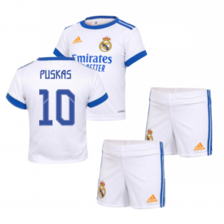 Real Madrid 2021-2022 Home Baby Kit (PUSKAS 10)