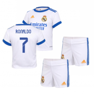 Real Madrid 2021-2022 Home Baby Kit (RONALDO 7)