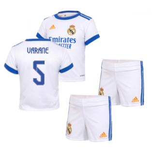 Real Madrid 2021-2022 Home Baby Kit (VARANE 5)