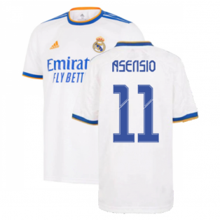 Real Madrid 2021-2022 Home Shirt (Kids) (ASENSIO 11)