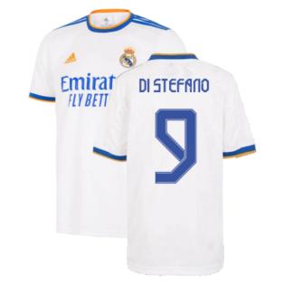 Real Madrid 2021-2022 Home Shirt (Kids) (DI STEFANO 9)