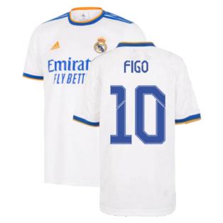 Real Madrid 2021-2022 Home Shirt (Kids) (FIGO 10)