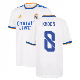 Real Madrid 2021-2022 Home Shirt (Kids) (KROOS 8)