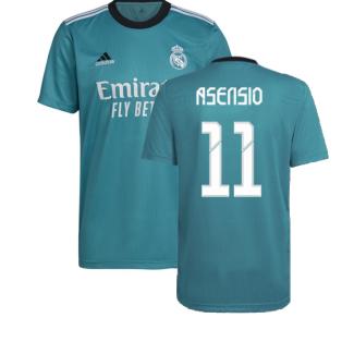 Real Madrid 2021-2022 Third Shirt (ASENSIO 11)
