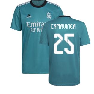 Real Madrid 2021-2022 Third Shirt (CAMAVINGA 25)
