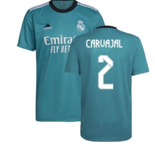 Real Madrid 2021-2022 Third Shirt (CARVAJAL 2)